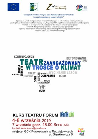 Teatr zaangażowany w trosce o klimat