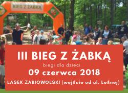 III Bieg z Żabką 9.06.2018