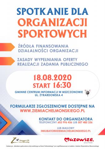 spotkanie organizacj sportowych
