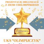 """Stowarzyszenie UKS """"Olimpijczyk""""  -  Wyróżnienie  publiczności(925 polubień)"""